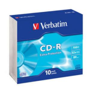 Verbatim CD-R DL EP 52x Extra Protect 700MB slim